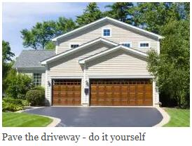 Pave the Driveway – Do It Yourself